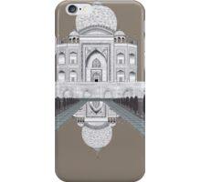 A still day in Agra (sepia) iPhone Case/Skin