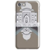 A still day in Agra (sepia) iPhone Case/Skin