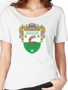 McConnell Coat of Arms/Family Crest Women's Relaxed Fit T-Shirt