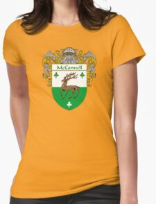 McConnell Coat of Arms/Family Crest Womens Fitted T-Shirt