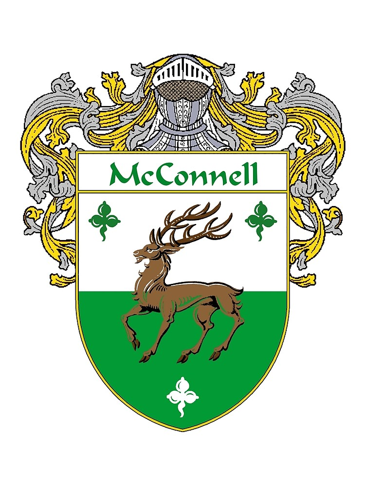 McConnell Coat of Arms/Family Crest by William Martin