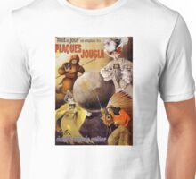 French Vintage Poster Restored Unisex T-Shirt