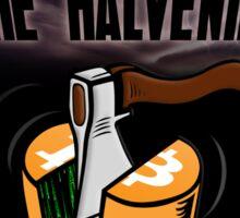 Bitcoin: The Halvening Sticker