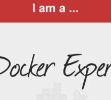 Hello I'm a Docker Expert Sticker