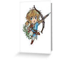 Link (zelda U/ NX) Greeting Card