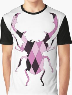 Stag Beetle Graphic T-Shirt