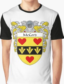 McCord Coat of Arms/Family Crest Graphic T-Shirt