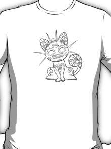 Meowth de los Muertos   Pokemon & Day of The Dead Mashup T-Shirt