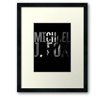 Michael J Fox Framed Print