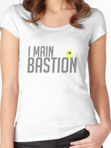I Main Bastion Women's Fitted Scoop T-Shirt