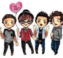 Fall Out Boy: Chibis by rainbowreverie