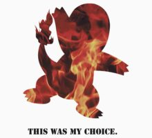 My Choice was Charmander by ArtichokesQueen