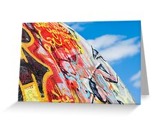 planet graffiti Greeting Card