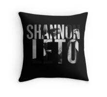 Shannon Leto Throw Pillow