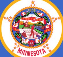 Minnesota Flag Sticker