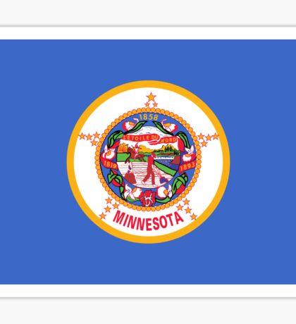 Minnesota Flag Sticker