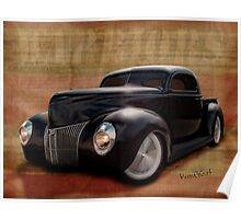 40 Ford Pickup Warriors Poster