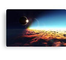 Eclipse Canvas Print