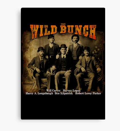 Butch Cassidy's Wild Bunch Canvas Print