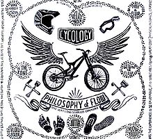 Philosophy of Flow (White) by CYCOLOGY