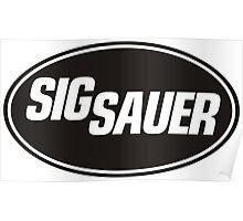 Sig Sauer Poster