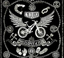 Philosophy of Flow (Black) by CYCOLOGY