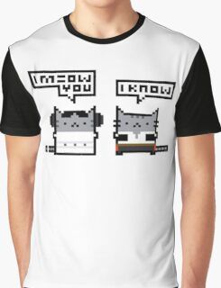 I Meow You - Cat Wars Graphic T-Shirt