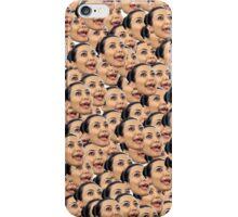 Kim Kardashian Ugly Face iPhone Case/Skin
