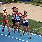 World IAAF Under 18 Women's 5000M Race Walk 2015 II by Al Bourassa