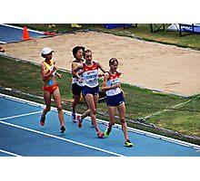 World IAAF Under 18 Women's 5000M Race Walk 2015 II Photographic Print