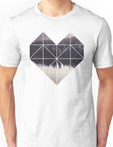 Geometric art - heart Unisex T-Shirt