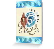 Nereids' Blessing Greeting Card