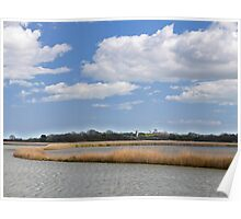 Marshland on the River Alde Poster
