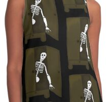 The Skeleton In My Closet Contrast Tank