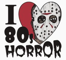 I Heart 80s Horror Kids Clothes