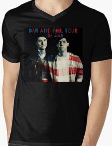 Dan and Phil USA Tour 2016 Mens V-Neck T-Shirt