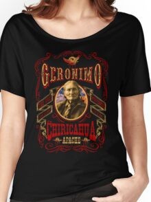 Apache Geronimo Native American T-Shirt Women's Relaxed Fit T-Shirt
