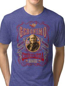 Apache Geronimo Native American T-Shirt Tri-blend T-Shirt