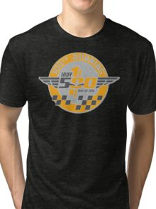 indianapolis, 500, 100th, racing, may 29 2016, indy 500, carb day, legend day, indiana, brickyard, america, motor, sport, speedway, the racing capital of the world, race day. Tri-blend T-Shirt