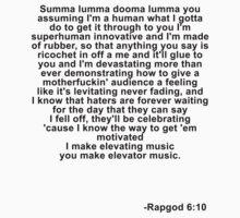Eminem Rapgod by Treble Echo