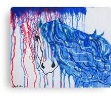 Patriot Horse Canvas Print