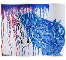 Patriot Horse Poster