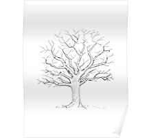 Fingerprint Tree Guestbook - Great for your Wedding, Baby Shower, Birthday or any special Celebration Poster