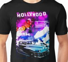 Driving On Sunset Boulevard Unisex T-Shirt