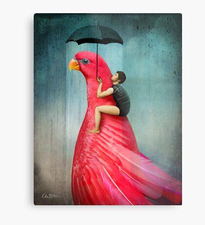 Under My Umbrella Metal Print