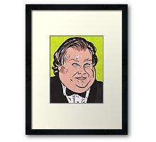 Chris Farley Framed Print