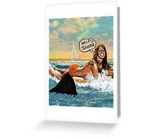 Jaws Amity Island Greeting Card