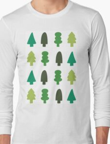 Trees | Filled Long Sleeve T-Shirt