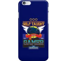 Self Taught Gamer of the 16-Bit Era iPhone Case/Skin