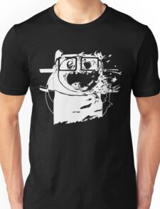 Monochrome Finn the Human Unisex T-Shirt